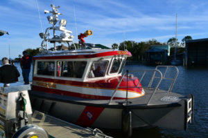 city fire boat