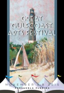 Blazek wins Great Gulfcoast Arts Festival Poster Competition