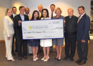 Pensacola State receives $250,000 scholarship endowment