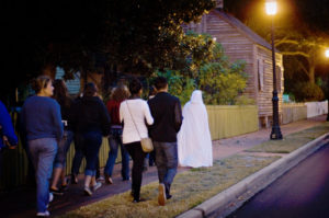 UWF Historic Trust hosts haunted house walking and trolley tours