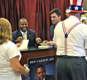 ben carson book signing pensacola
