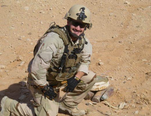 James Zumwalt in Iraq